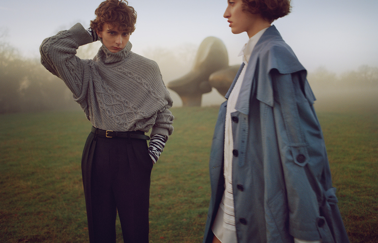 Burberry Explores Henry Moore S Vision Of The Body At