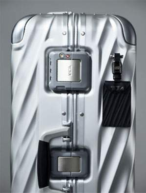 All 19 Degree styles feature integrated, low profile TSA locks, a unique, 20 digit Tumi Tracer code and leather detailed side carry handles.