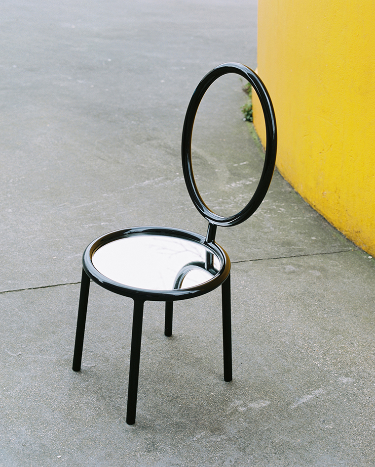 Dior Medallion Chair by Pierre Charpin