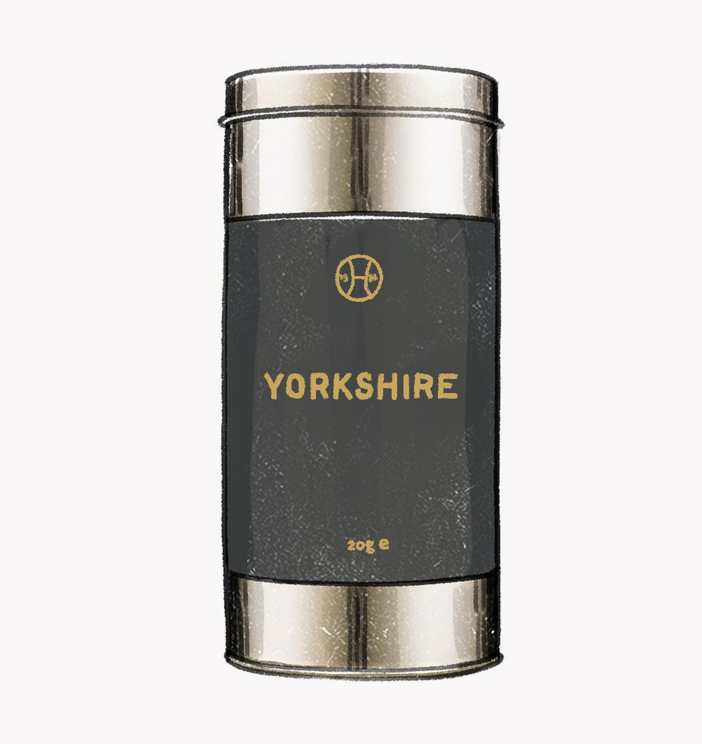 Yorkshire Grey tea with bergamot, mandarin oil and lavender was created by Lyn Harris of Perfumer H in collaboration with Postcard Teas