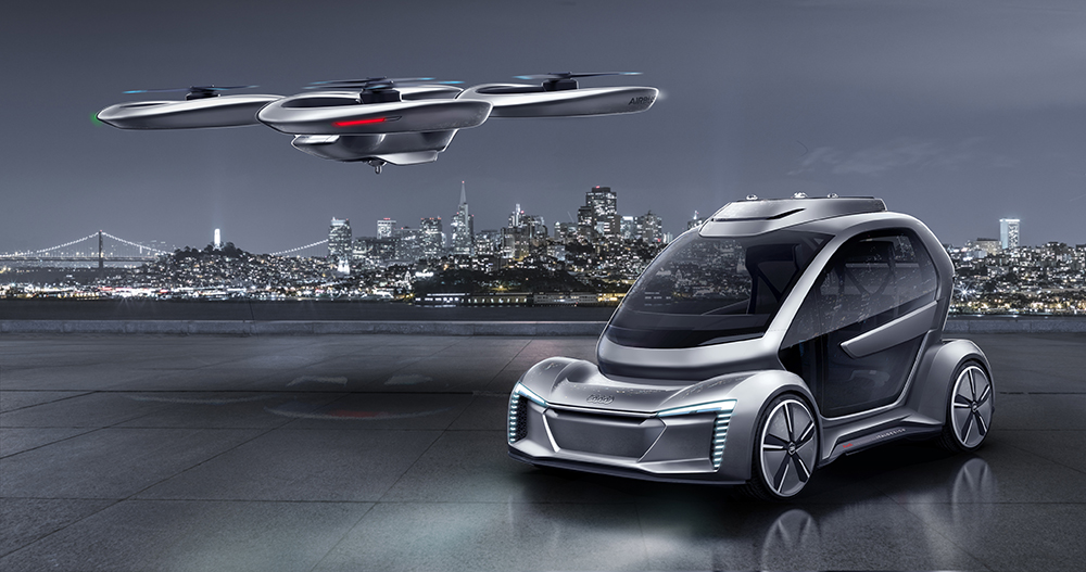 Italdesign Airbus Pop.Up Next (concept flying car)