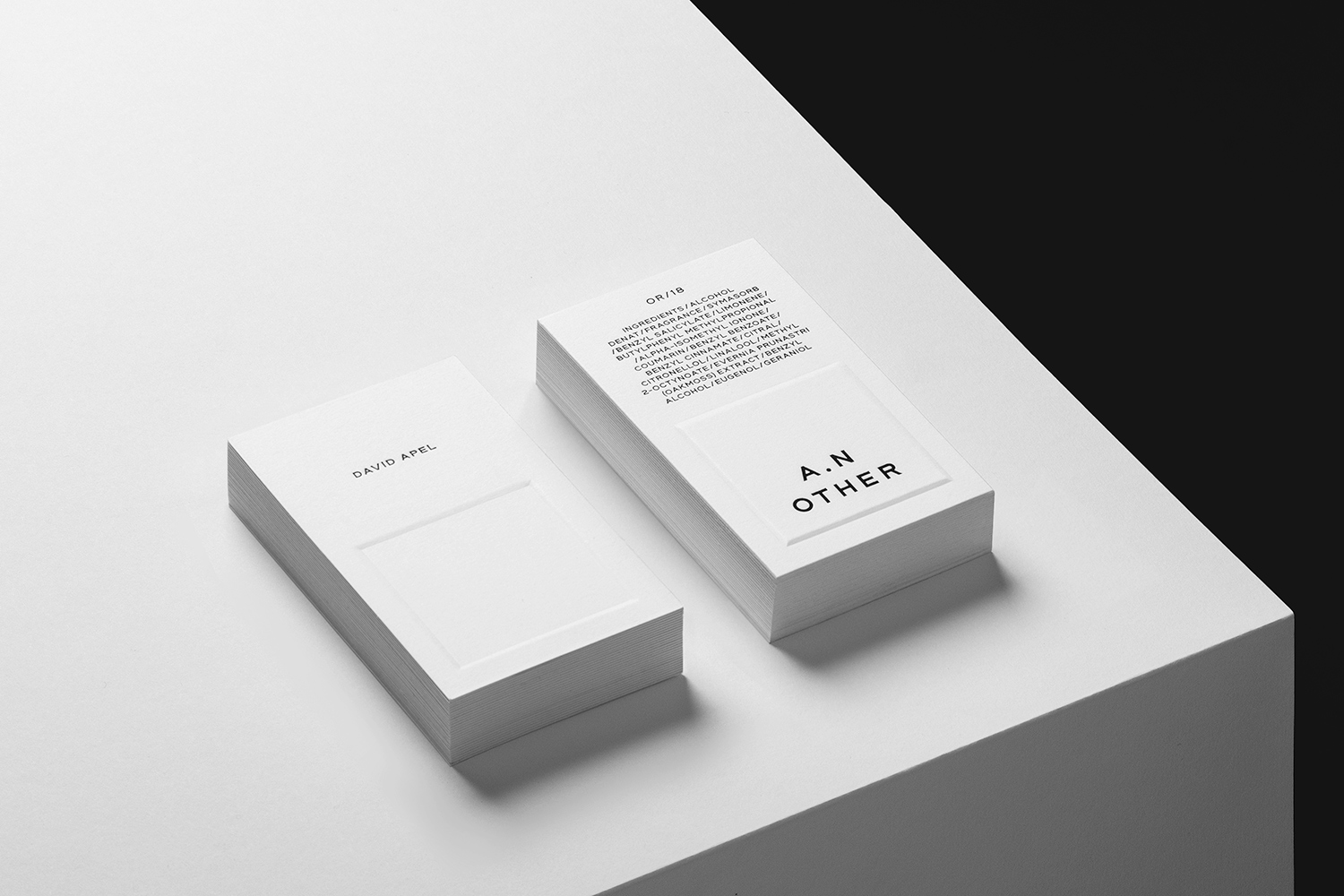 A.N OTHER fragrance packaging
