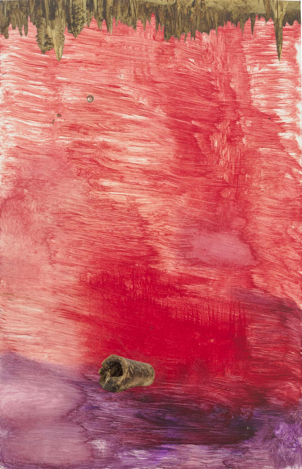 Sterling ruby 39 s cross medium work is inspired by mountain for Sterling ruby paintings