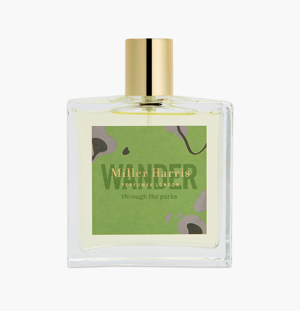 'Wander (through the parks)' fragrance, by Miller Harris