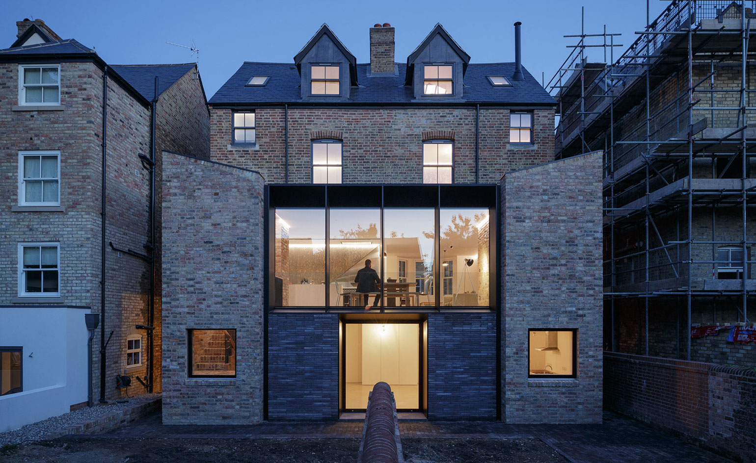 Semi Detached An Unusual Oxford House Conversion By