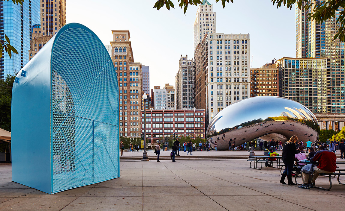 Top Dog A Series Of Lakefront Kiosks Reinvent The Hot Dog