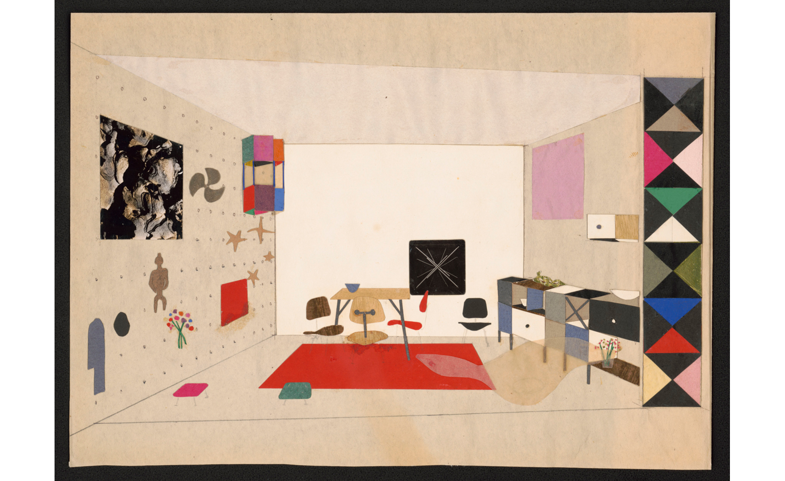 The Barbican Celebrates The Design World Of Charles And Ray Eames Wallpaper