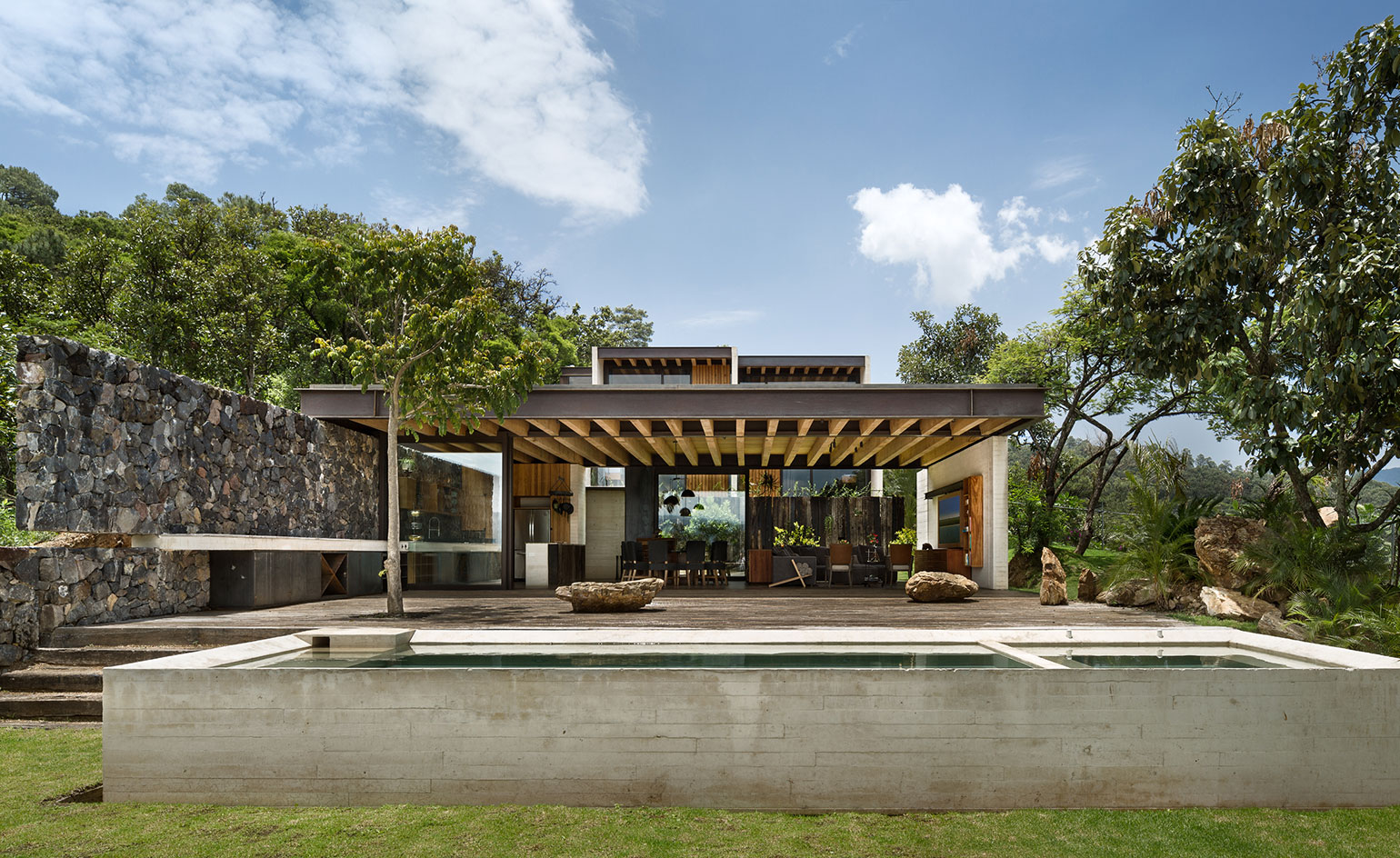 Interactive Tour Tucan House Mexico Wallpaper: home architecture in mexico