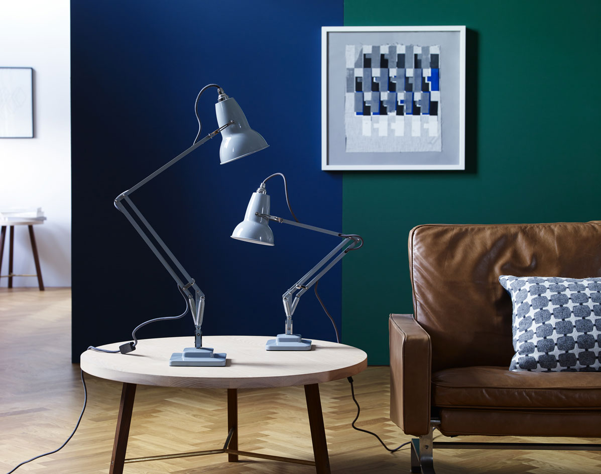 anglepoise launch the 39 original 1227 mini 39 collection. Black Bedroom Furniture Sets. Home Design Ideas