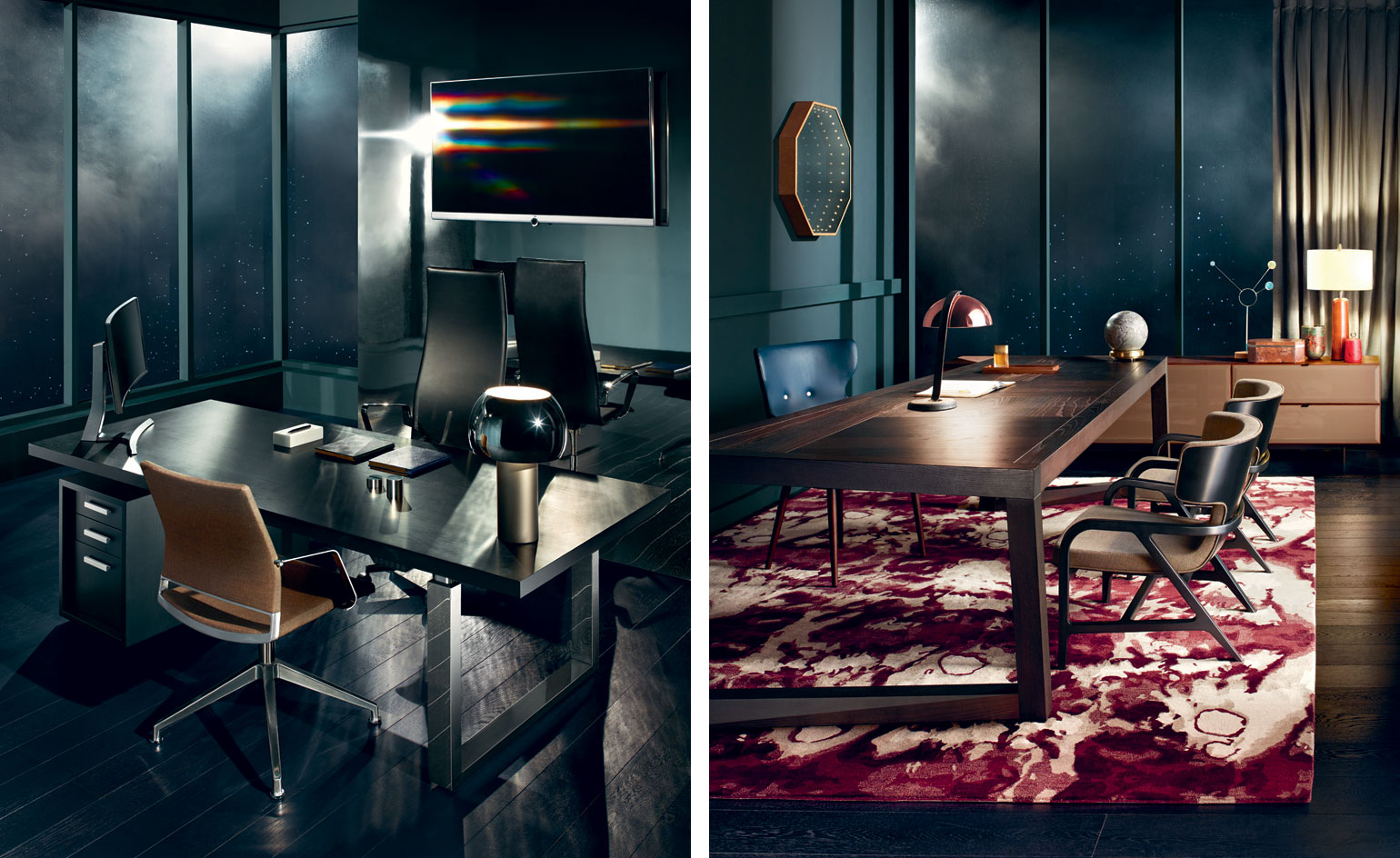 High office: perfectly tailored suites for our top-level execs