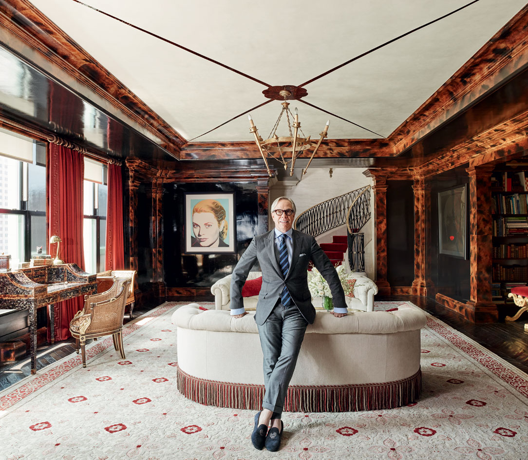 Tommy Hilfiger in residence at Plaza Hotel