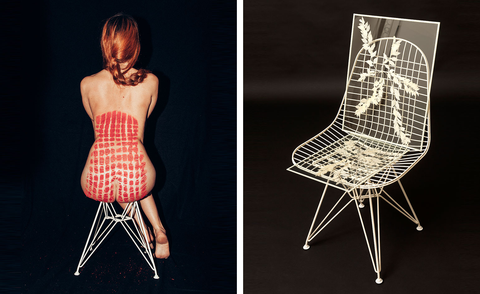 Eames wire chairs redesigned for charity wallpaper - Swimming pool marie madeleine lyrics ...
