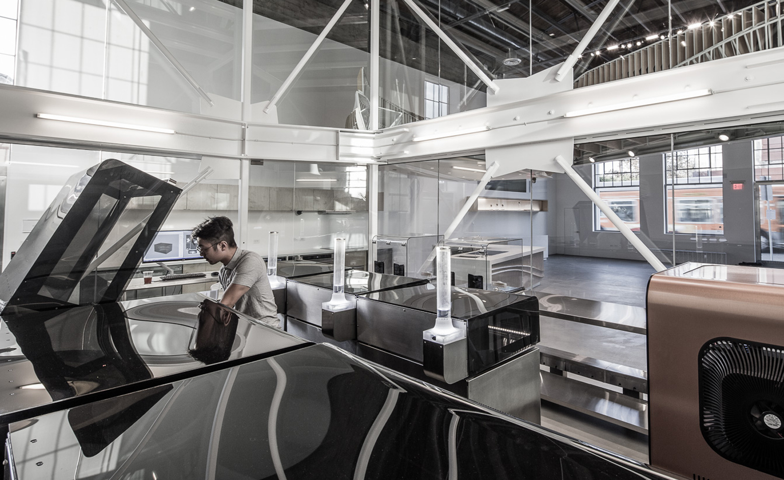 Oyler wu collaborative create 3d food lab wallpaper for Lab architects