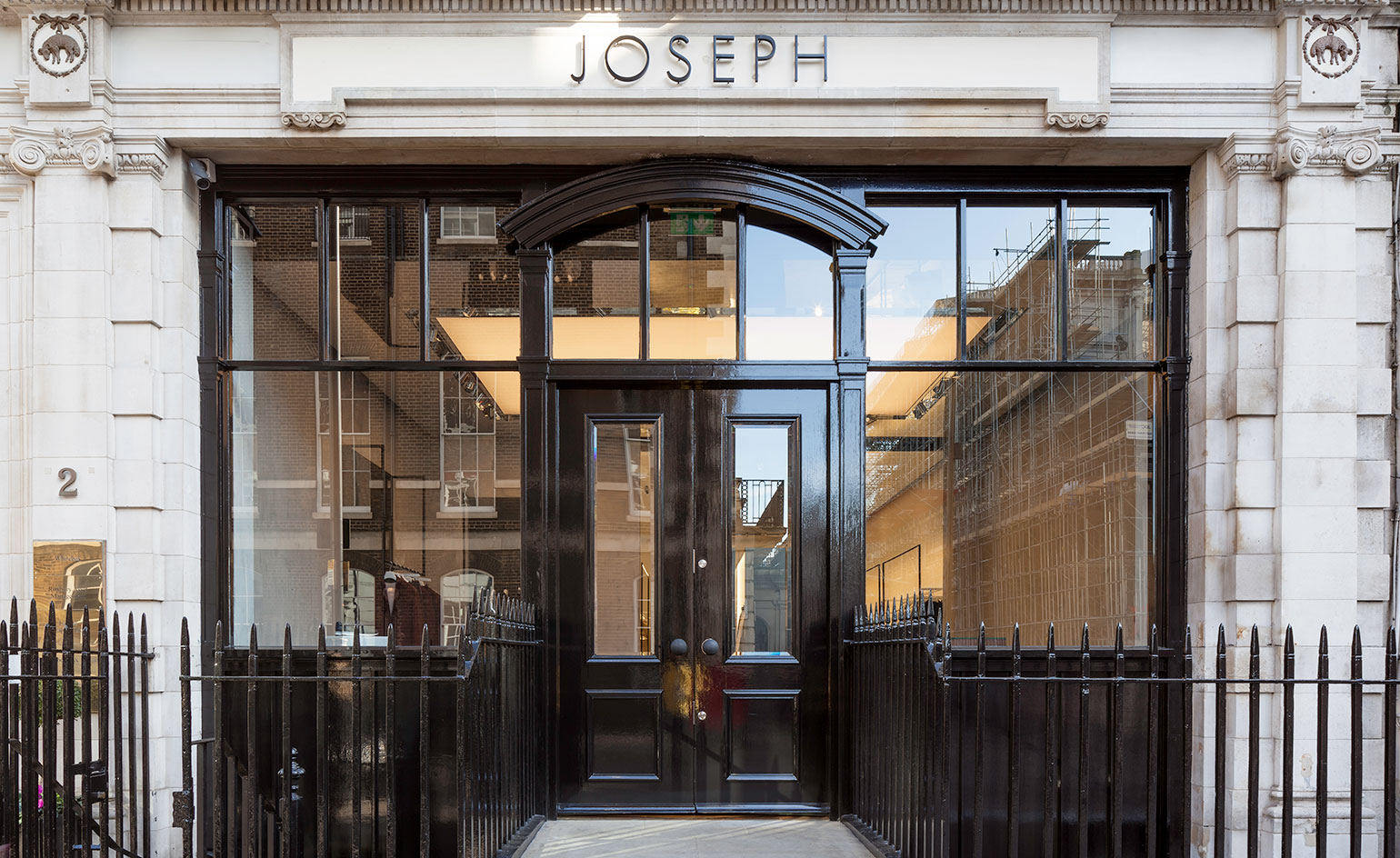 Luxury brand joseph opens new london flagship wallpaper for The best architecture firms in london