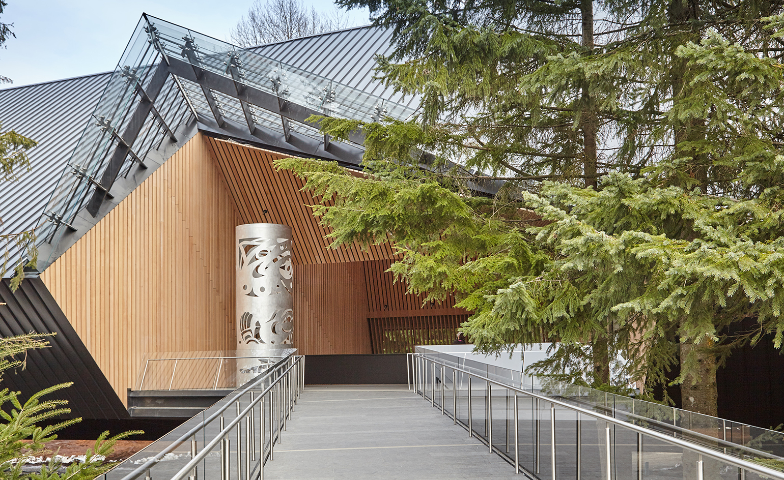 Audain art gallery opens in british columbia wallpaper for Vancouver architecture firms