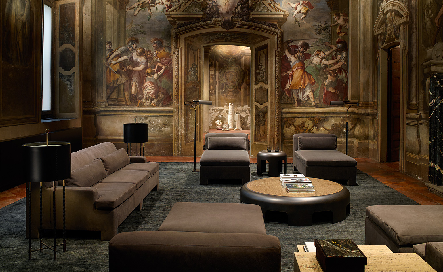 Fashion brands round up at salone del mobile wallpaper for Classic italo house zenhiser