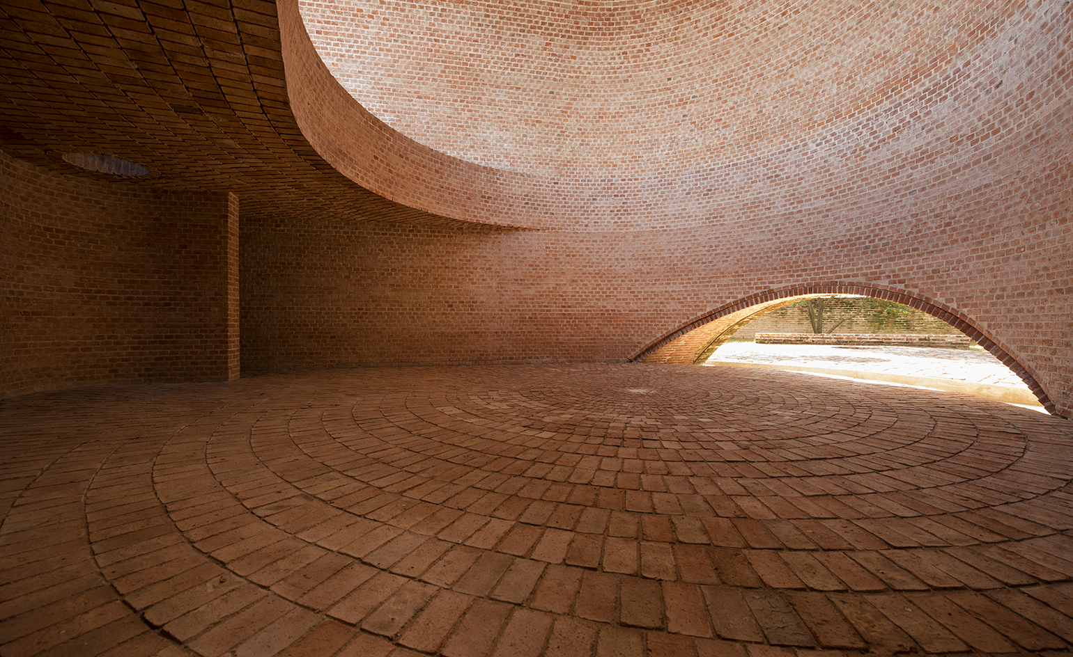 Argentinan Chapel Changes With The Rotation Of The Sun