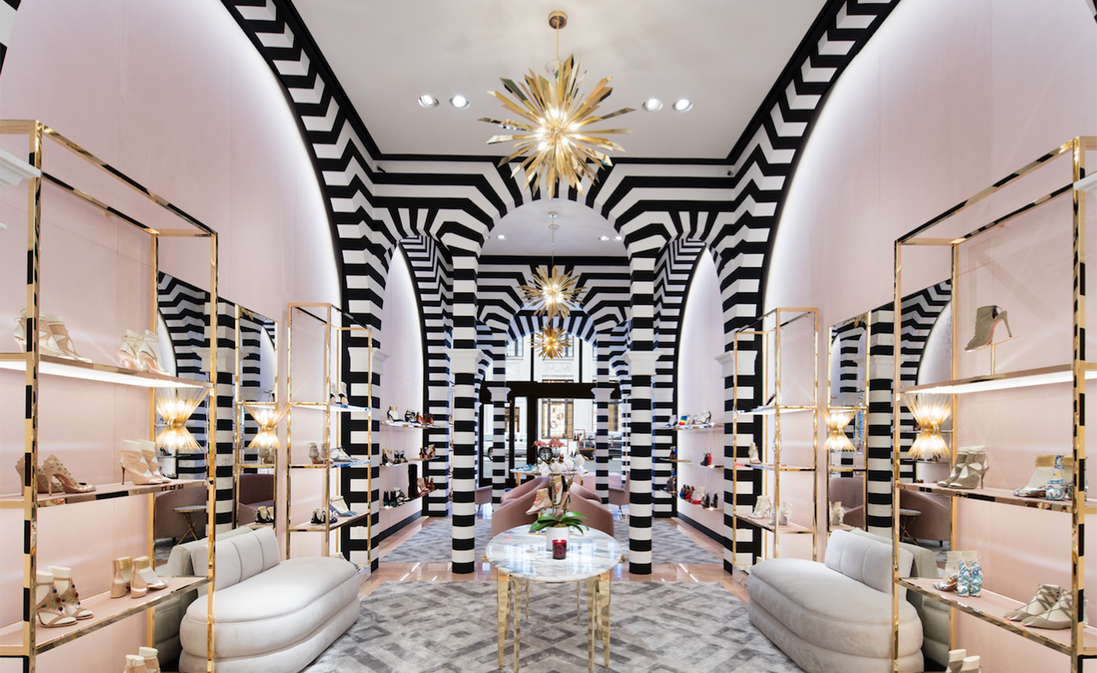 Aquazurra open the doors of their luxury ny boutique for Best boutique hotels nyc 2016