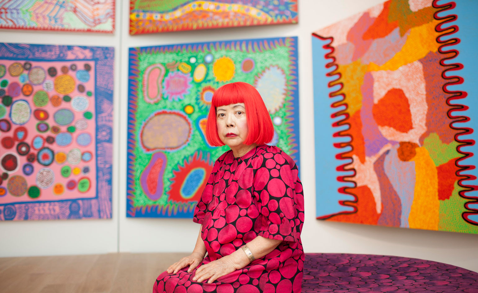 Victoria Miro Galleries Hosts A Yayoi Kusama Retrospective Wallpaper