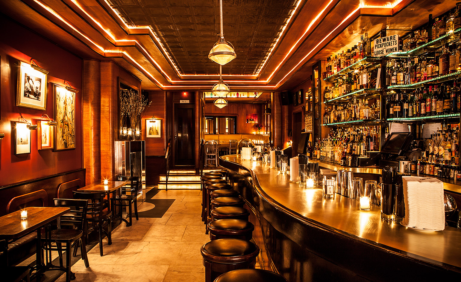 The 13 best nyc hidden bars and secret speakeasies for Ny lounge decor