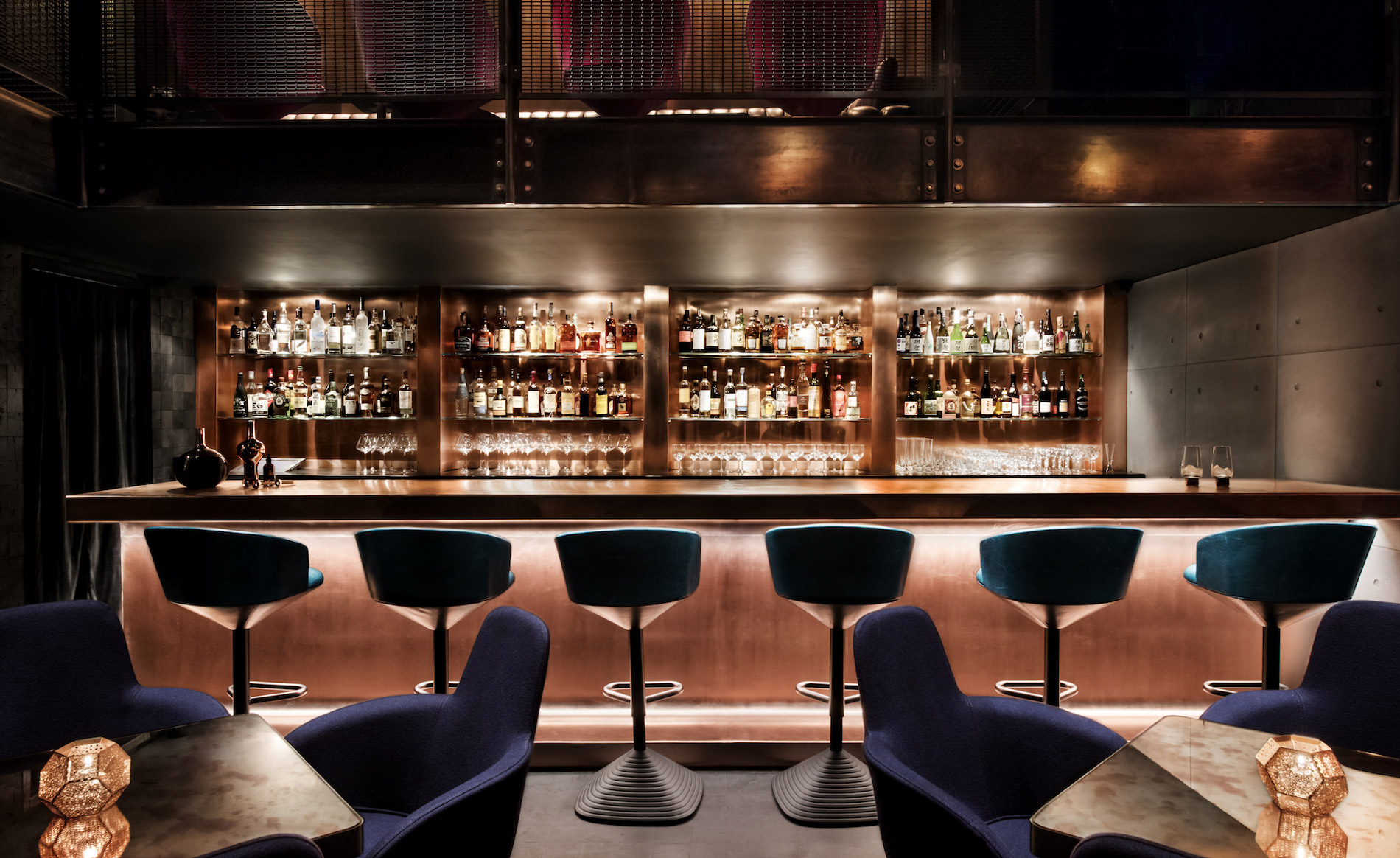 Best designed bar interiors wallpaper for Interiores de restaurantes