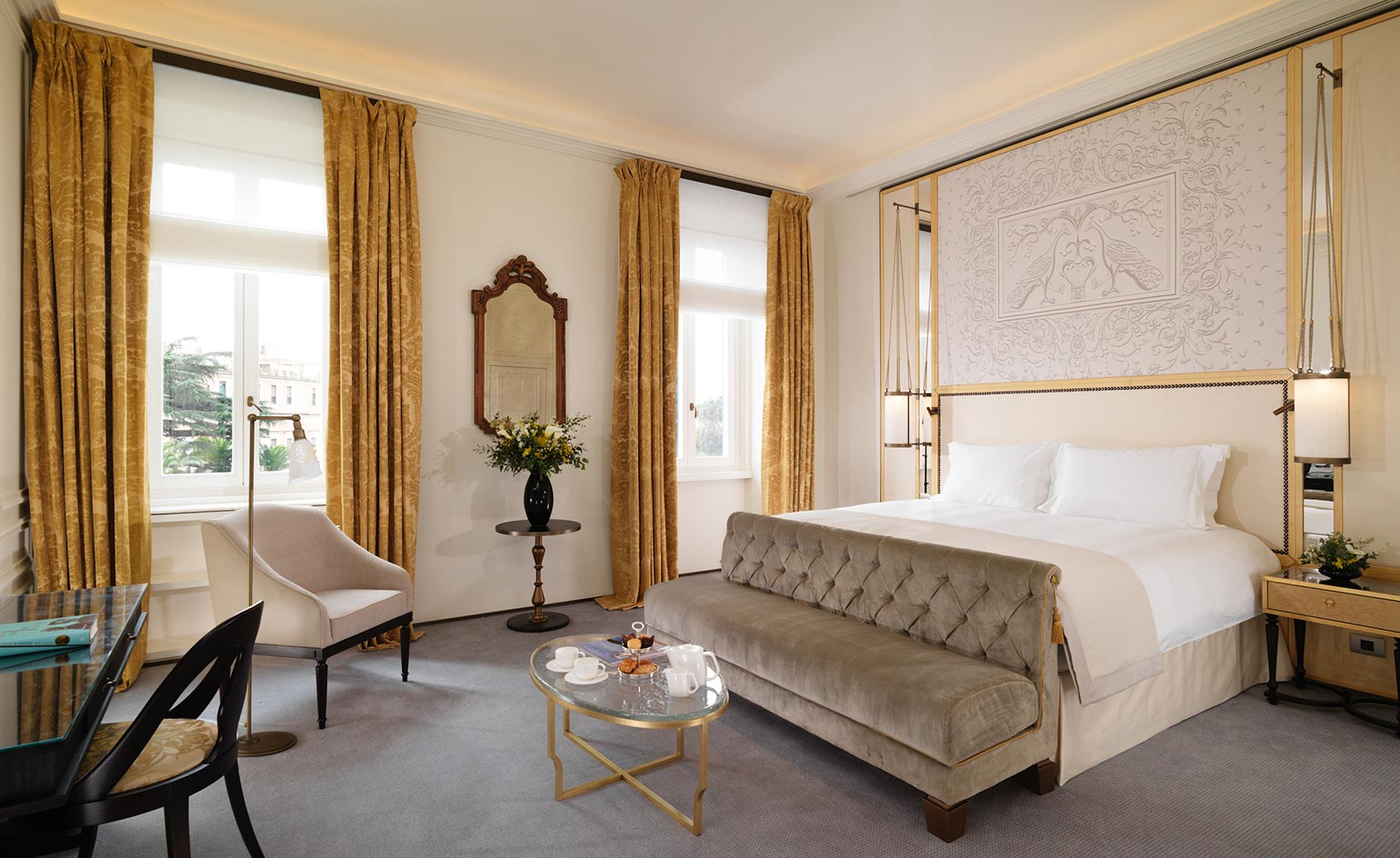 Hotel Eden Hotel Review Rome Italy Wallpaper