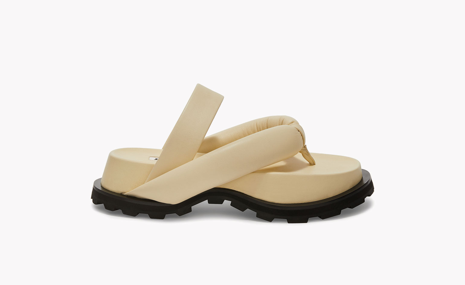 summer sandals in Japanese style by Jil Sander