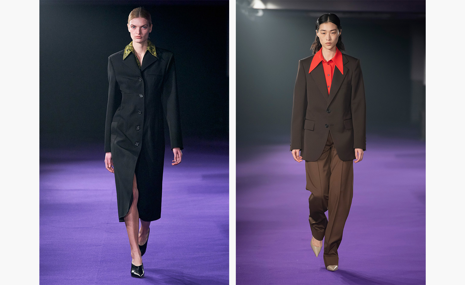 Kwaidan Editions A/W 2019 tailoring catwalk images