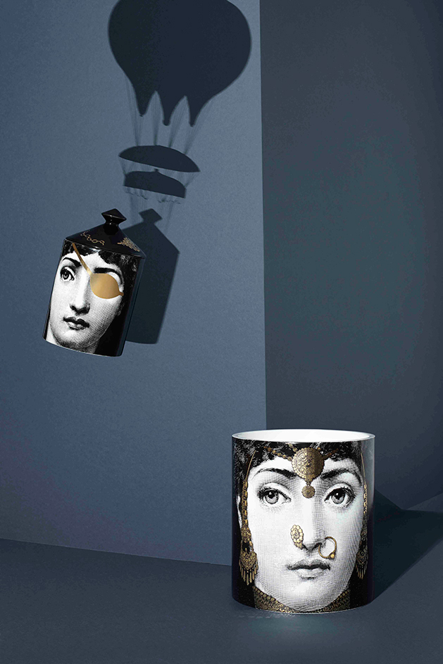 Introducing fornasetti 39 s new scented candle collections for Different brands of candles