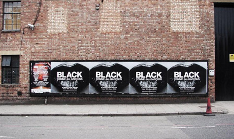 The C Des G Black Campaign On Billboards In London