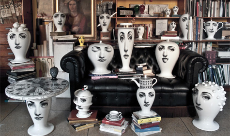 New Fornasetti Vases By Bitossi Ceramiche Wallpaper
