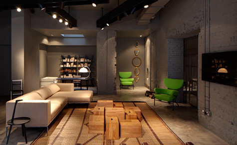 Design Piero Lissoni.Cassina To Open Its First London Showroom Designed By Piero