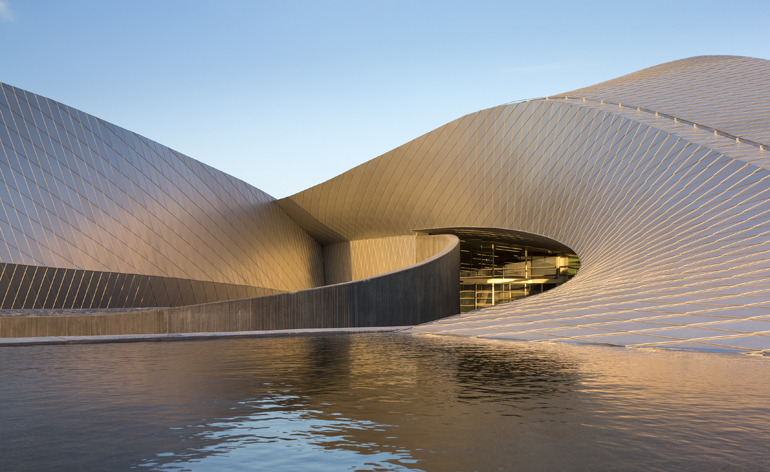 At The National Aquarium In Copenhagen, Designed By 3XN, The Visitors Are  Drawn Into