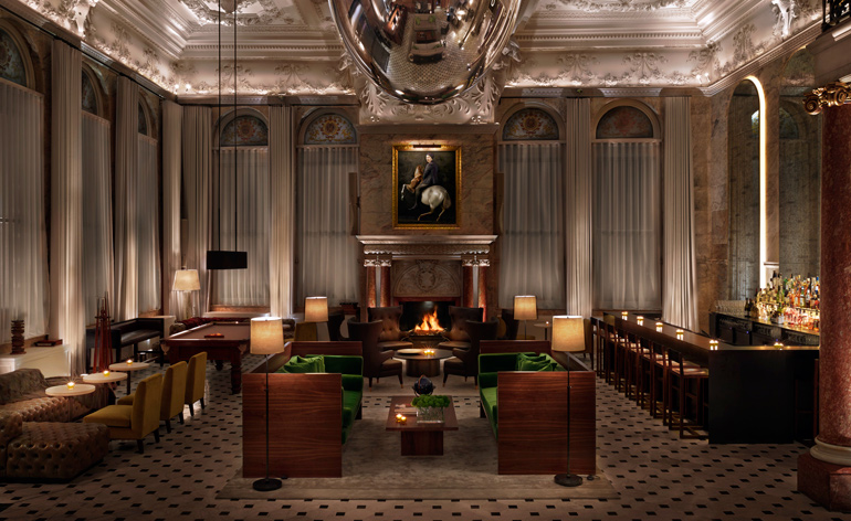 The London Edition: Ian Schrager's capital comeback