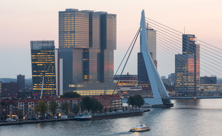 Oma Completes De Rotterdam In The Netherlands Wallpaper