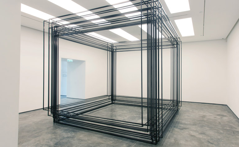 Art And Architecture Collide In Antony Gormley S