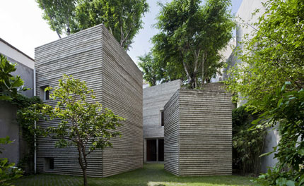 House for Trees: an interactive tour of Vo Trong Nghia Architects' green residence in Ho Chi Minh City