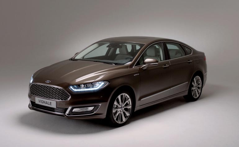 Flash From The Past Ford Mondeo And S Max Get The Vignale Design