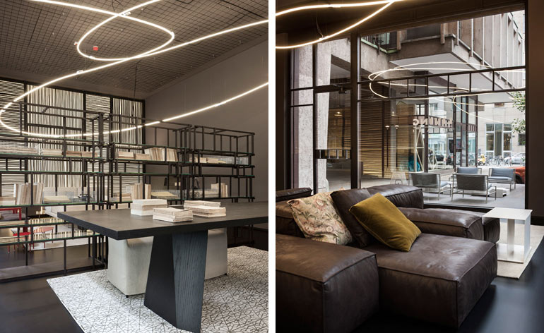 Land Reclaimed Living Divani And Piero Lissoni Revamp