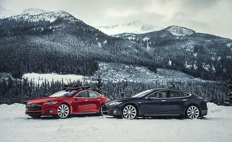 The Future Now Tesla Hits Emission Less High With World Beating Model S