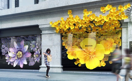 In Bloom Apple Stages A Floral Takeover Of Selfridges