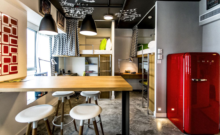 Designer Dorms Private Student Housing Opens In Hong Kong