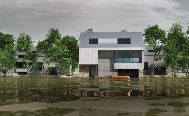 Flood Houses Riba Competition Winners Architecture Wallpaper