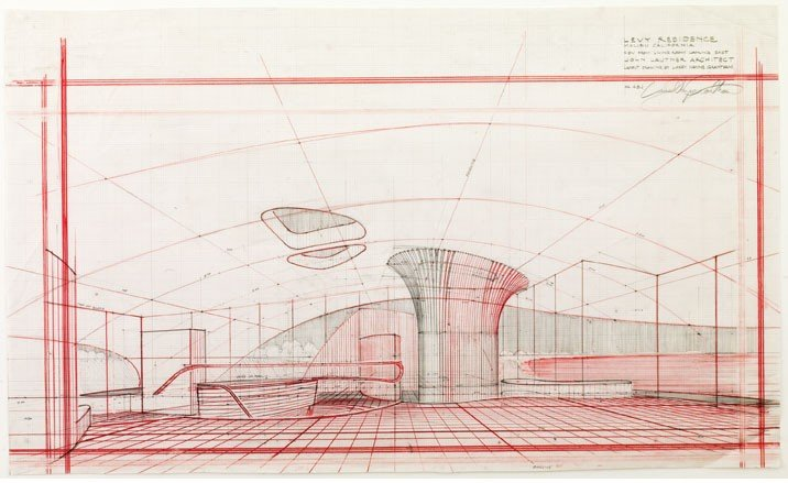 Architect John Lautners Drawings