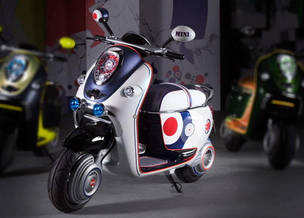 bmw unveils mini 39 e scooter 39 wallpaper. Black Bedroom Furniture Sets. Home Design Ideas