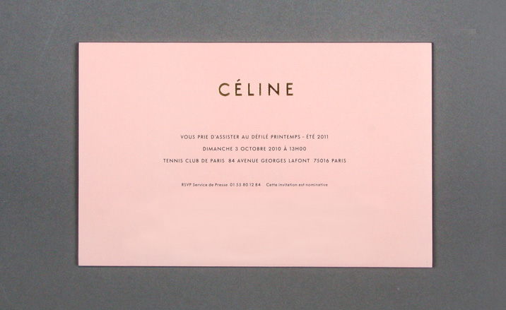 Womenswear Collections S S 2011 Show Invitations Wallpaper