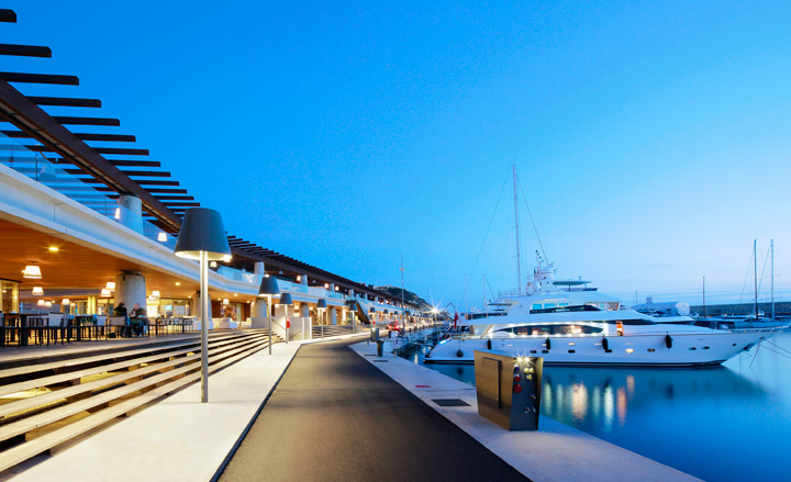 Port Adriano Marina By Philippe Starck Mallorca Wallpaper