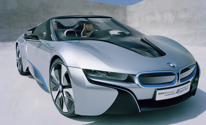 Bmw I Concept Spyder Wallpaper
