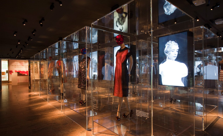 Schiaparelli and prada impossible conversations for Fashion museum new york