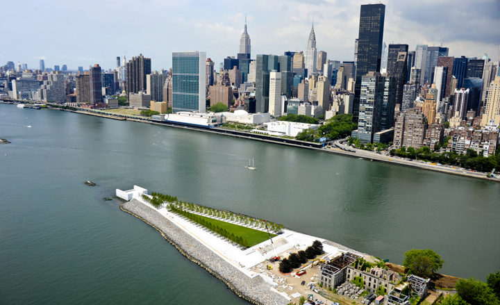 Architecture of Freedom Park Freedoms Park New York